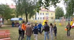 Волонтеры клуба ФДО БГПУ Доброе сердце   продолжают дарить детям радость в период летних каникул